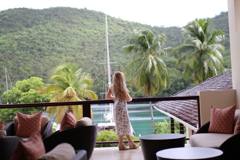 Capella, Marigot Bay, St. Lucia, Katie KALANCHOE