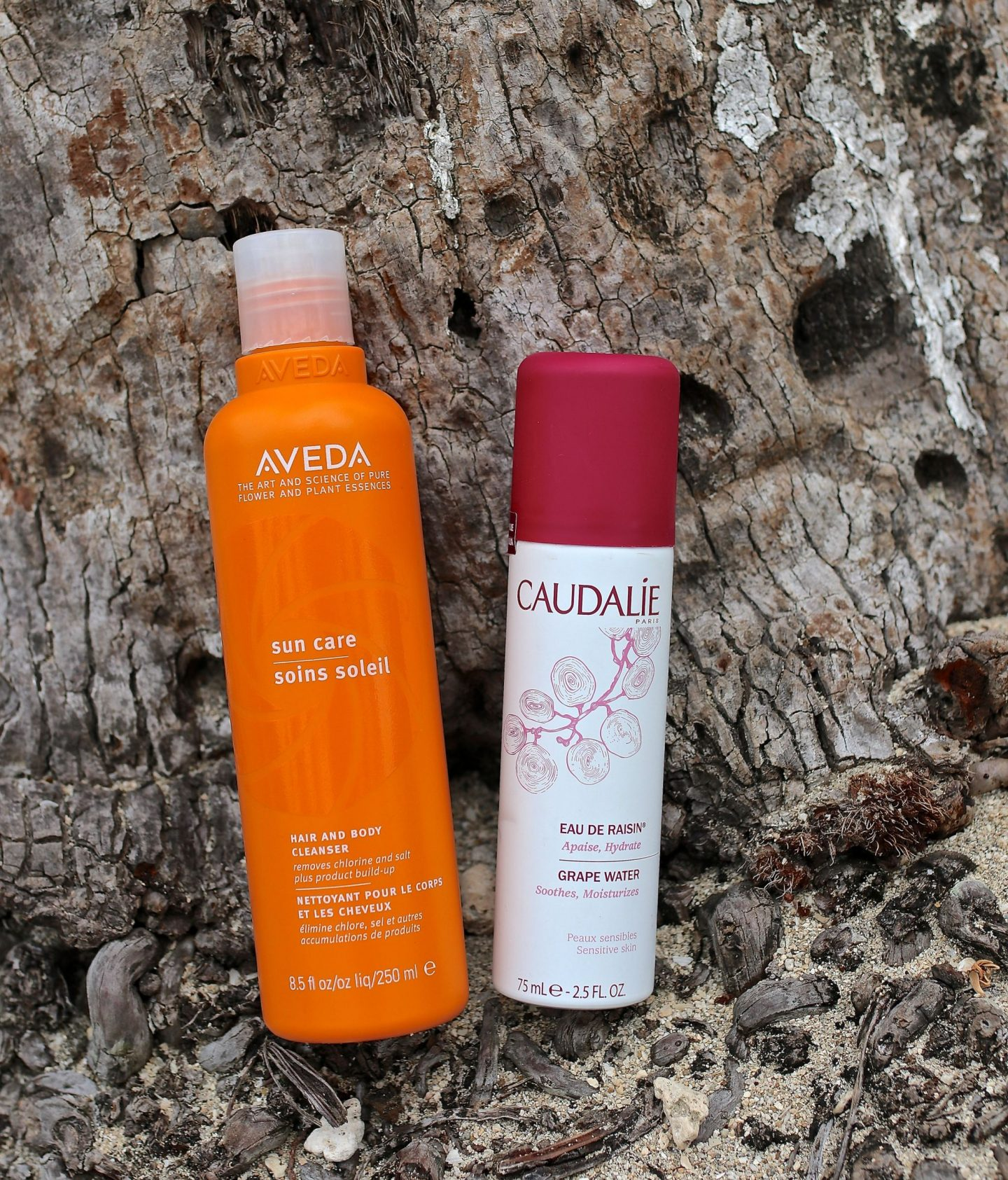Katie Heath, KALANCHOE, Beauty and skincare summer essentials, Aveda Hair and Body Cleanser, Caudalie Grape Water