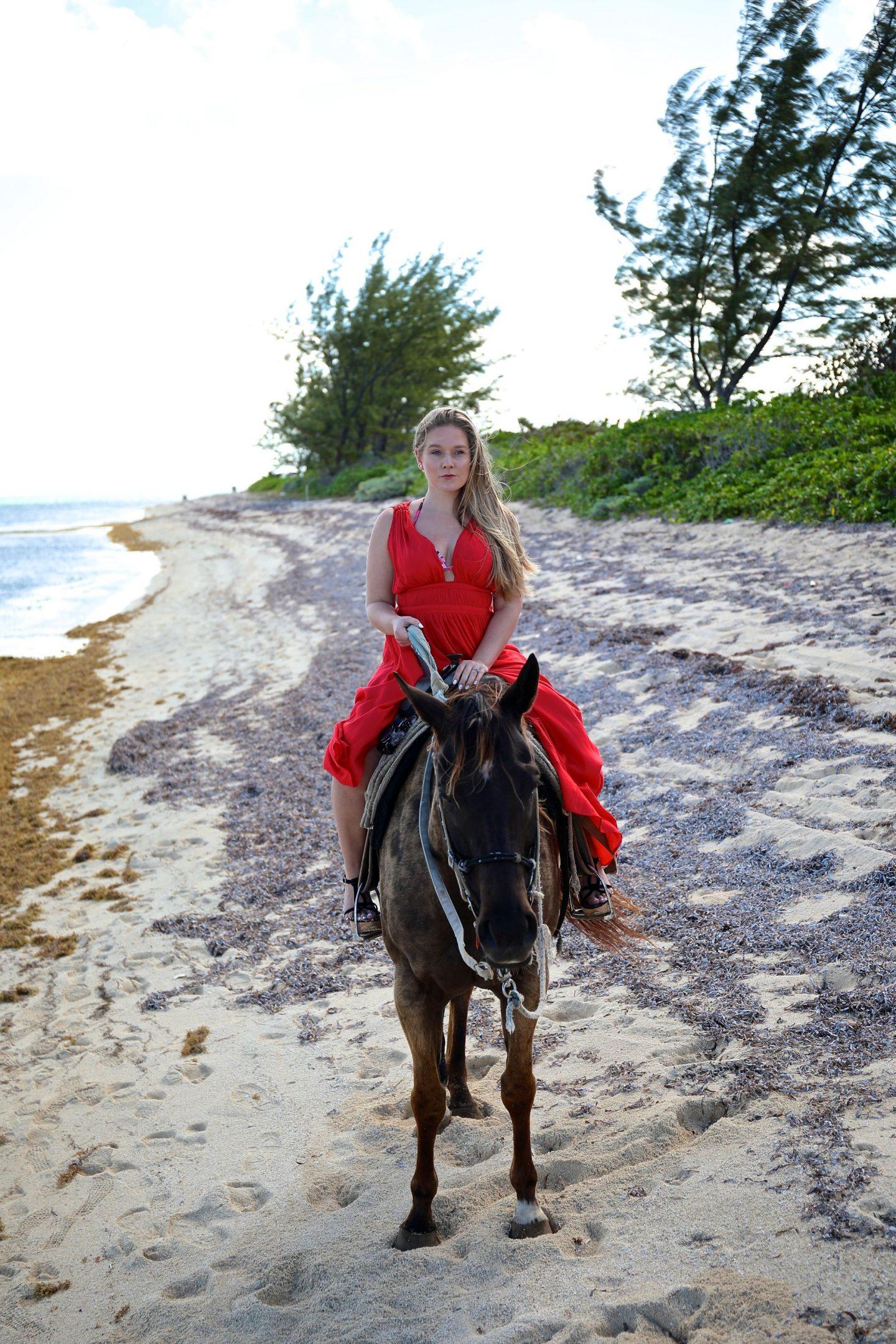Horse Riding on the beach, Grand Cayman, Katie Heath, KALANCHOE
