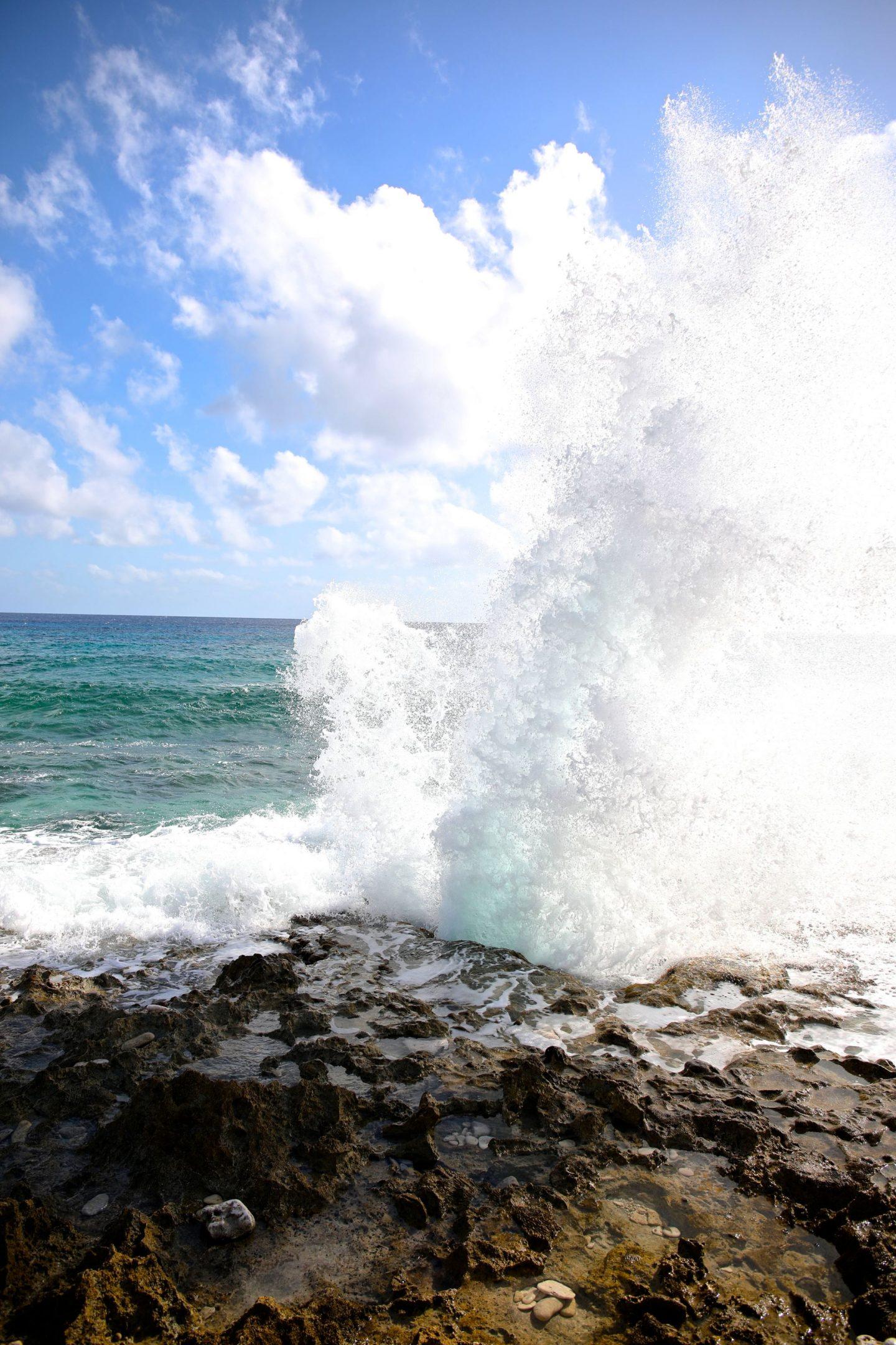 The Blow Holes, Grand Cayman, Katie Heath, KALANCHOE