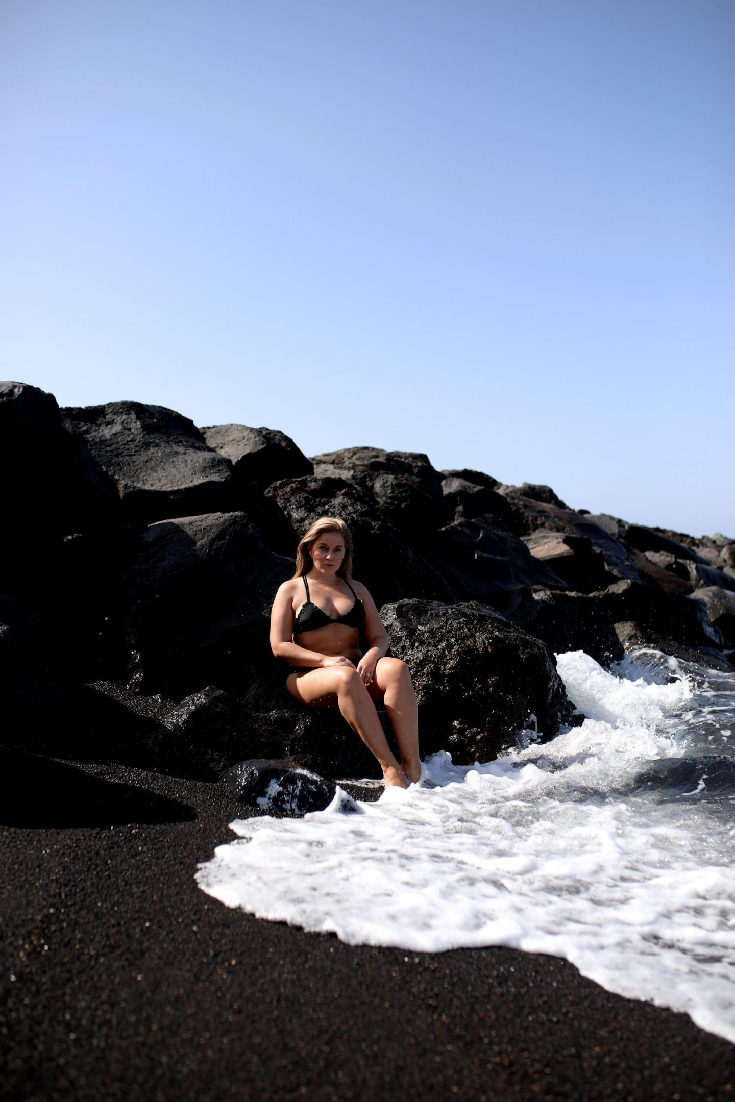Black Sand Beach, Tenerife, Canary Islands, Katie Heath, KALANCHOE