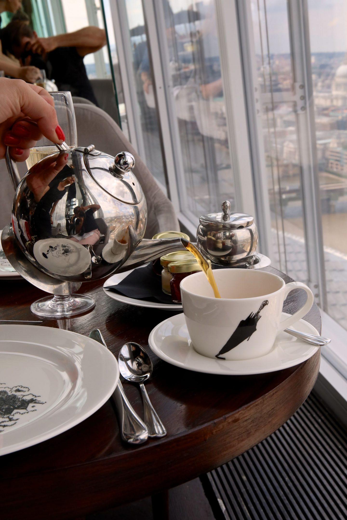 Mary Poppins Afternoon Tea Aqua Shard, Katie Heath, KALANCHOE