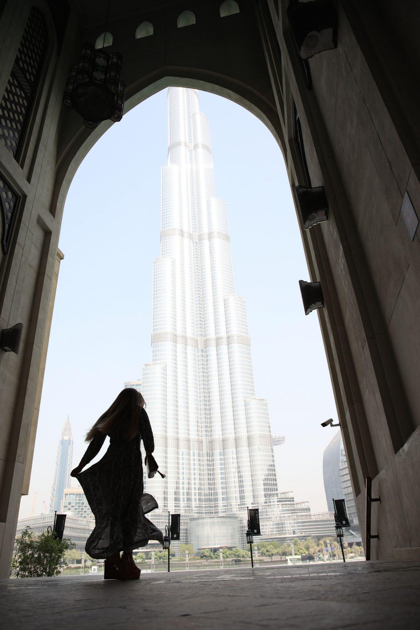 The Burj Khalifa, Dubai, Katie KALANCHOE
