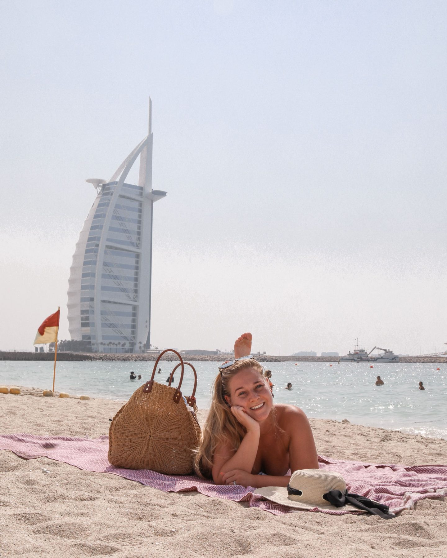 Burj Al Arab, Dubai, Katie KALANCHOE