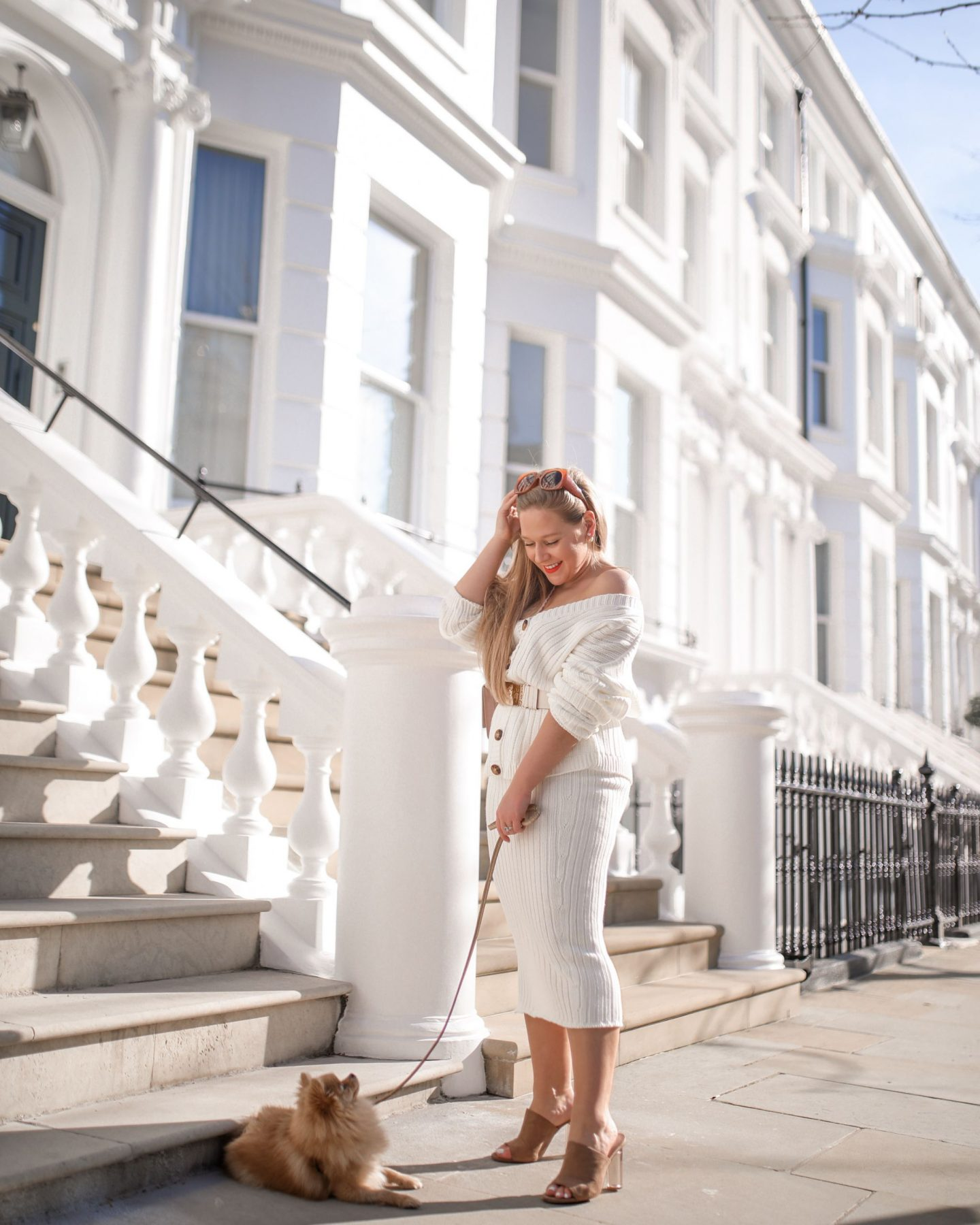 Katie Heath, KALANCHOE wearing Lorna Luxe X In The Style collection,
