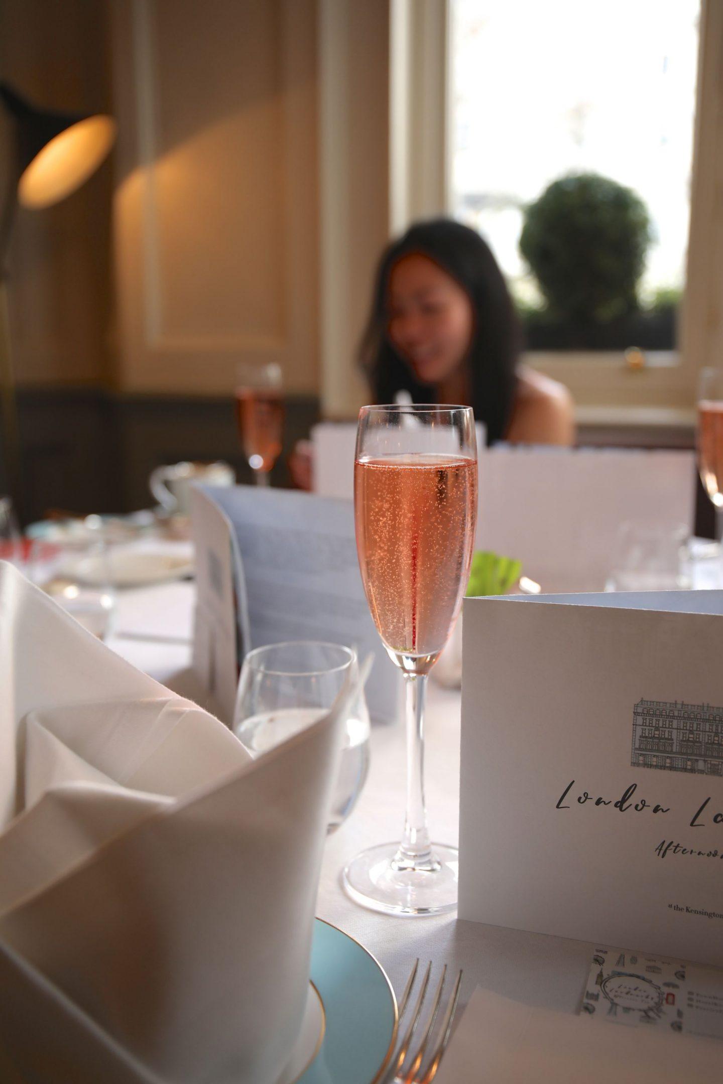London Landmarks Afternoon Tea at The Townhouse Kensington Hotel, Katie KALANCHOE, Katie Heath