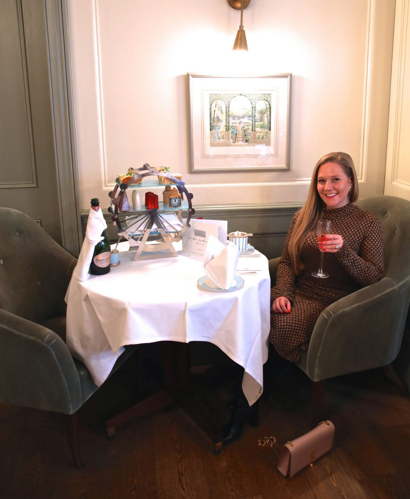 The Kensington Townhouse's London Landmarks Afternoon Tea