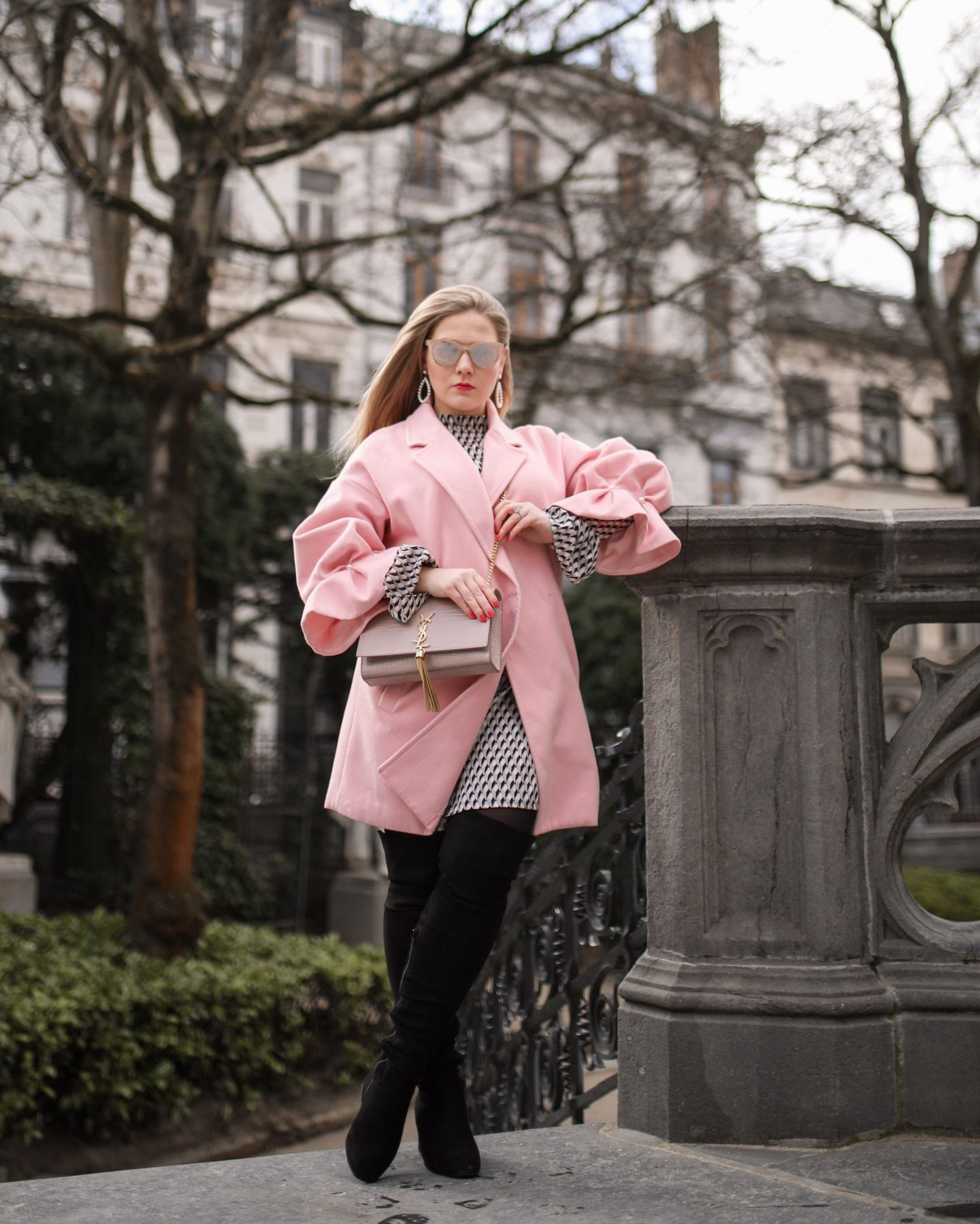 Pink, Pearls and Yves Saint Laurent in Brussels, Katie Heath, KALANCHOE