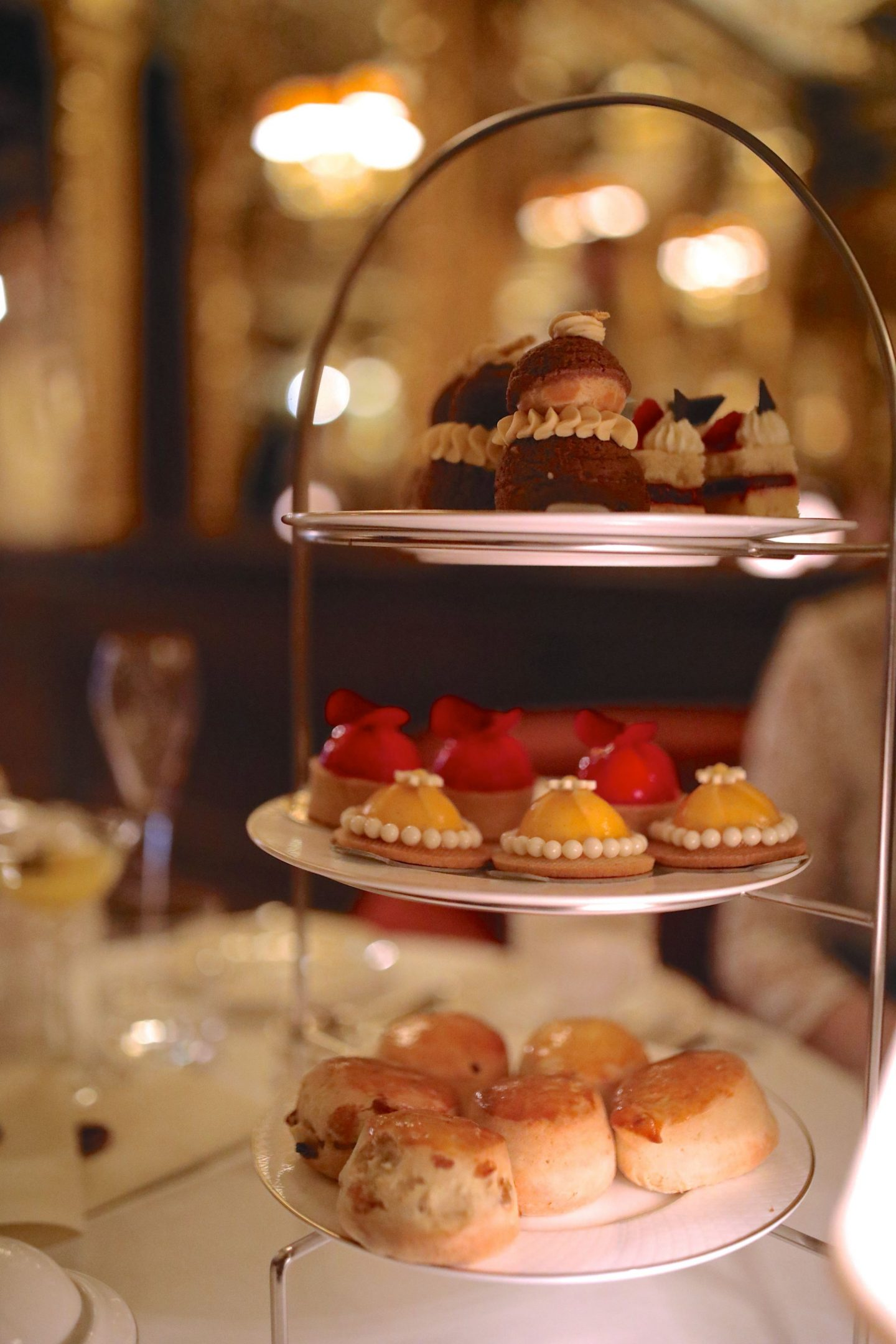 The Queen of Afternoon Teas at The Oscar Wilde Lounge, Hotel Cafe Royale, Katie Heath, KALANCHOE