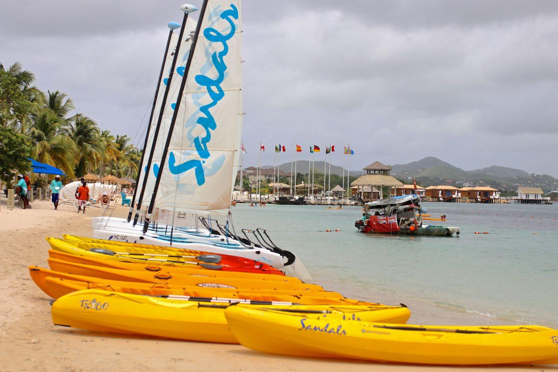 Katie KALANCHOE, St Lucia, Sandals Grande