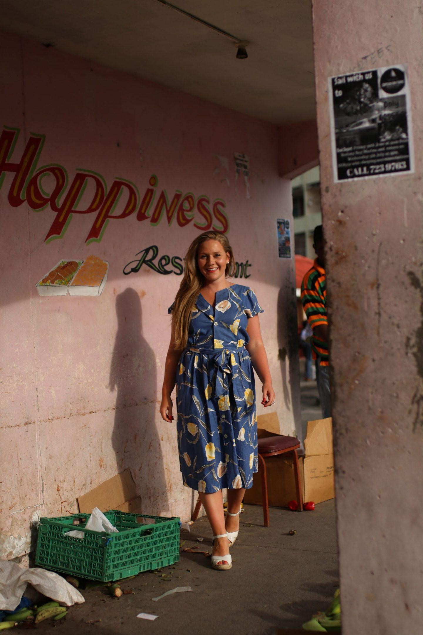 Katie KALANCHOE, St Lucia, Castries Market