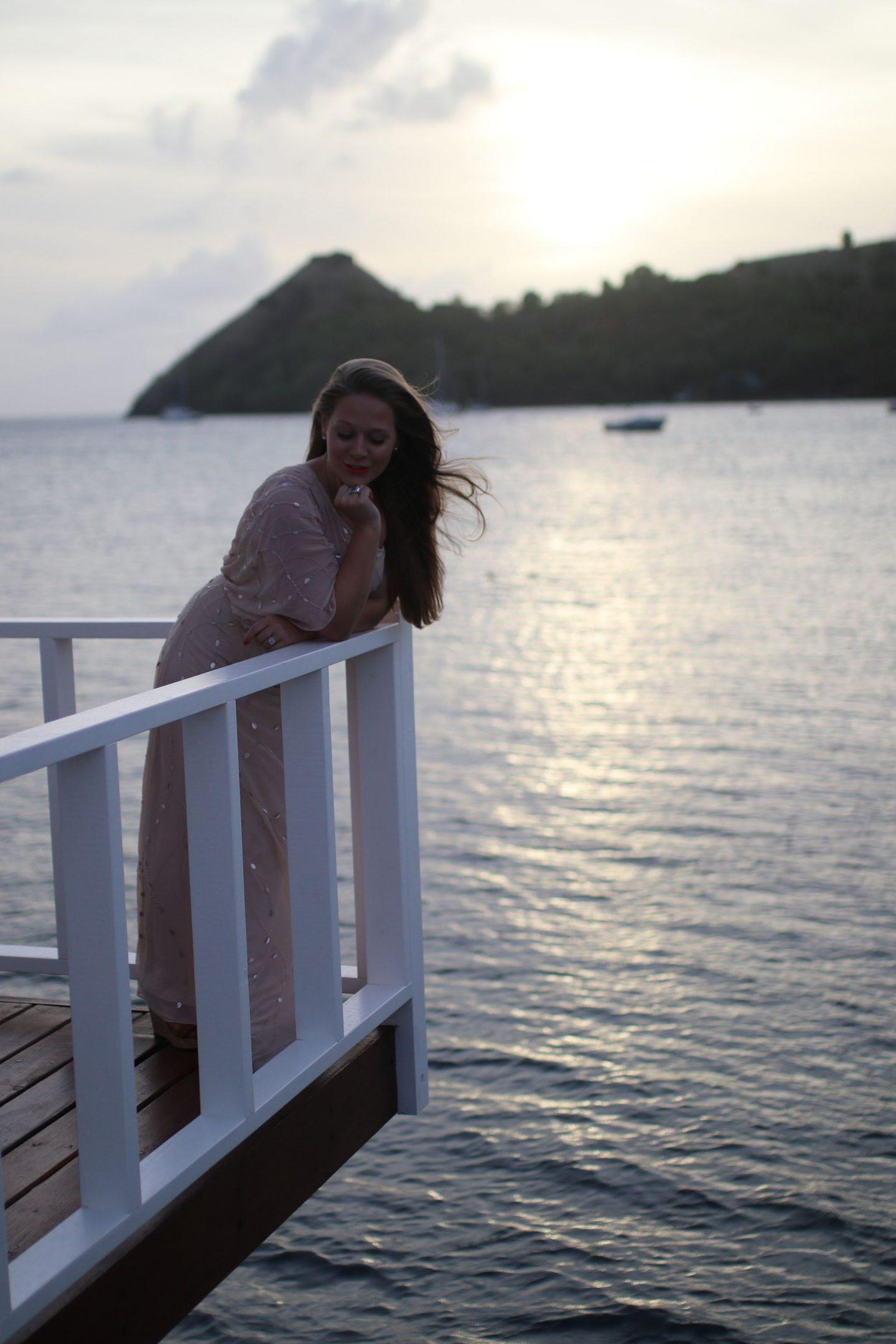 Katie Heath, KALANCHOE, St Lucia Outfit Diaries, Jacques Vert