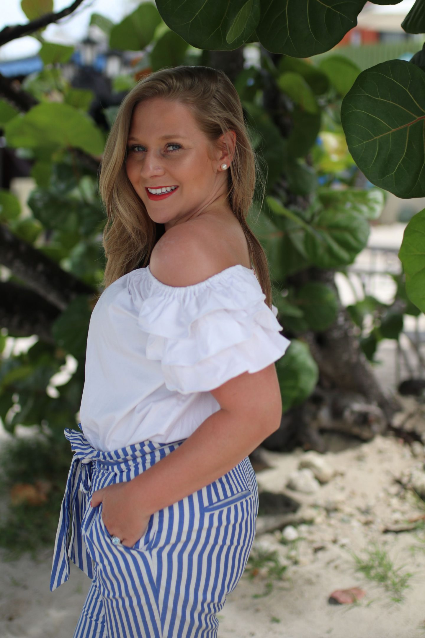 Katie Heath, KALANCHOE, St Lucia Outfit Diaries, Ted Baker