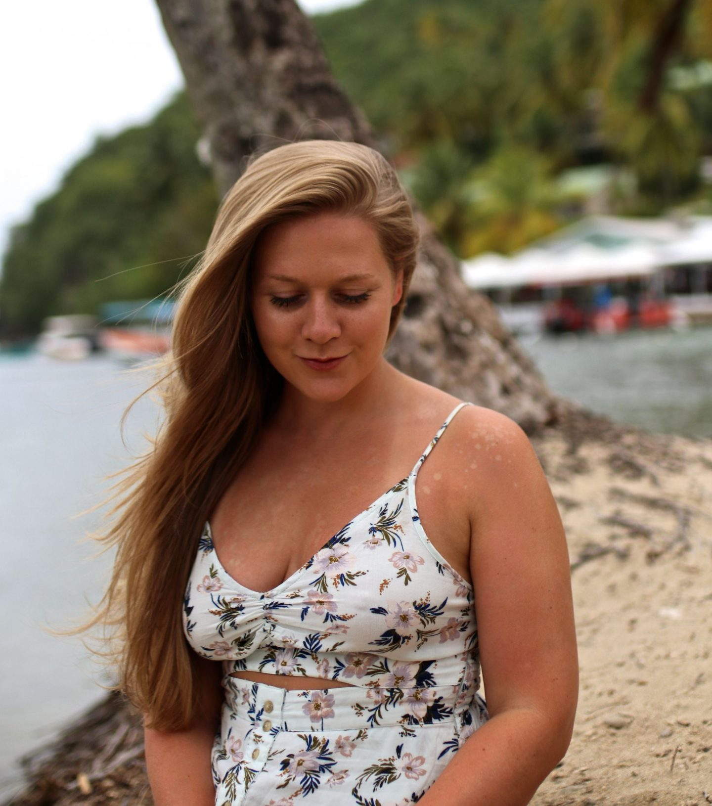 Katie Heath, KALANCHOE, St Lucia Outfit Diaries, Zara