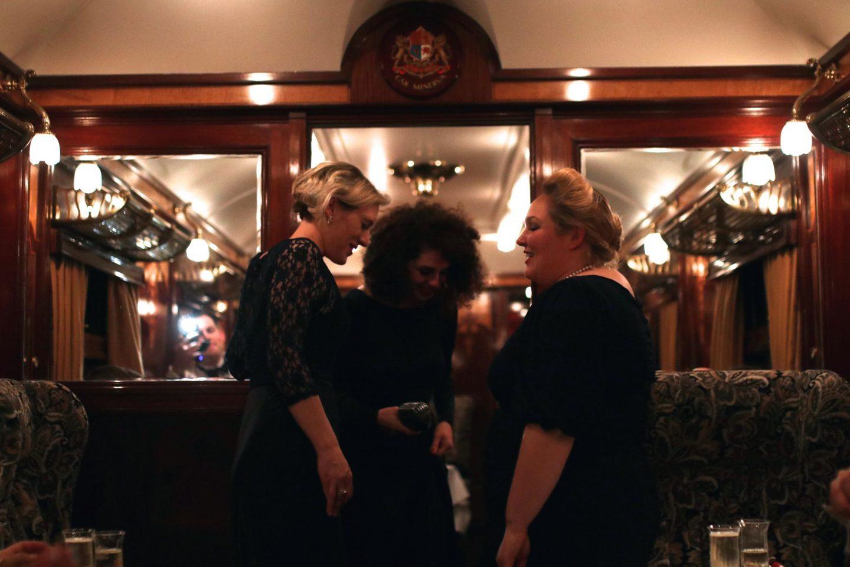 Belmond British Pullman with Laurent Perrier, Katie Heath, KALANCHOE