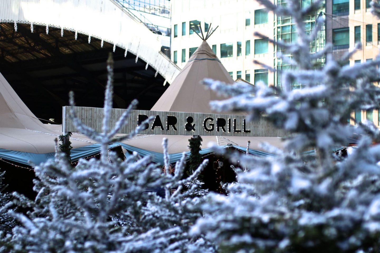 The Winter Forest, Broadgate, London, Katie KALANCHOE