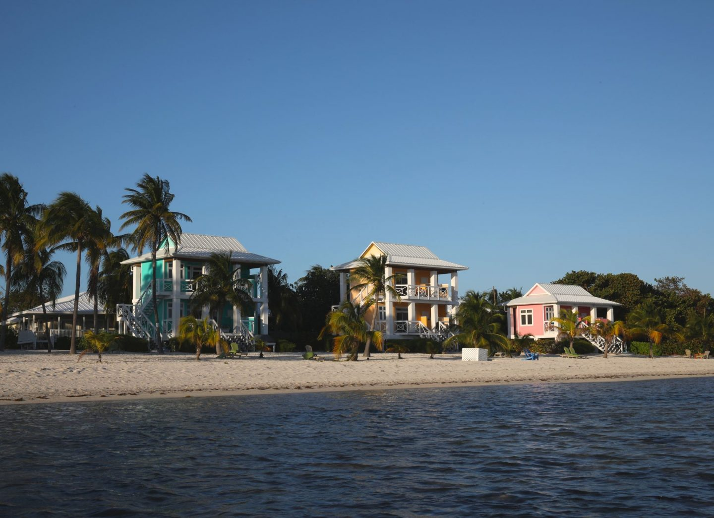 Coloured Houses, Southern Cross Club, Little Cayman, The Cayman Islands, Katie Heath, KALANCHOE