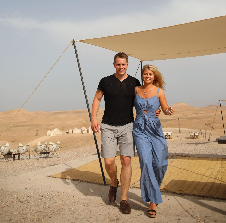 Katie KALANCHOE, Marrakech, Scarabeo Desert Camp, Harriet Martinovic and Tom Yellowlees