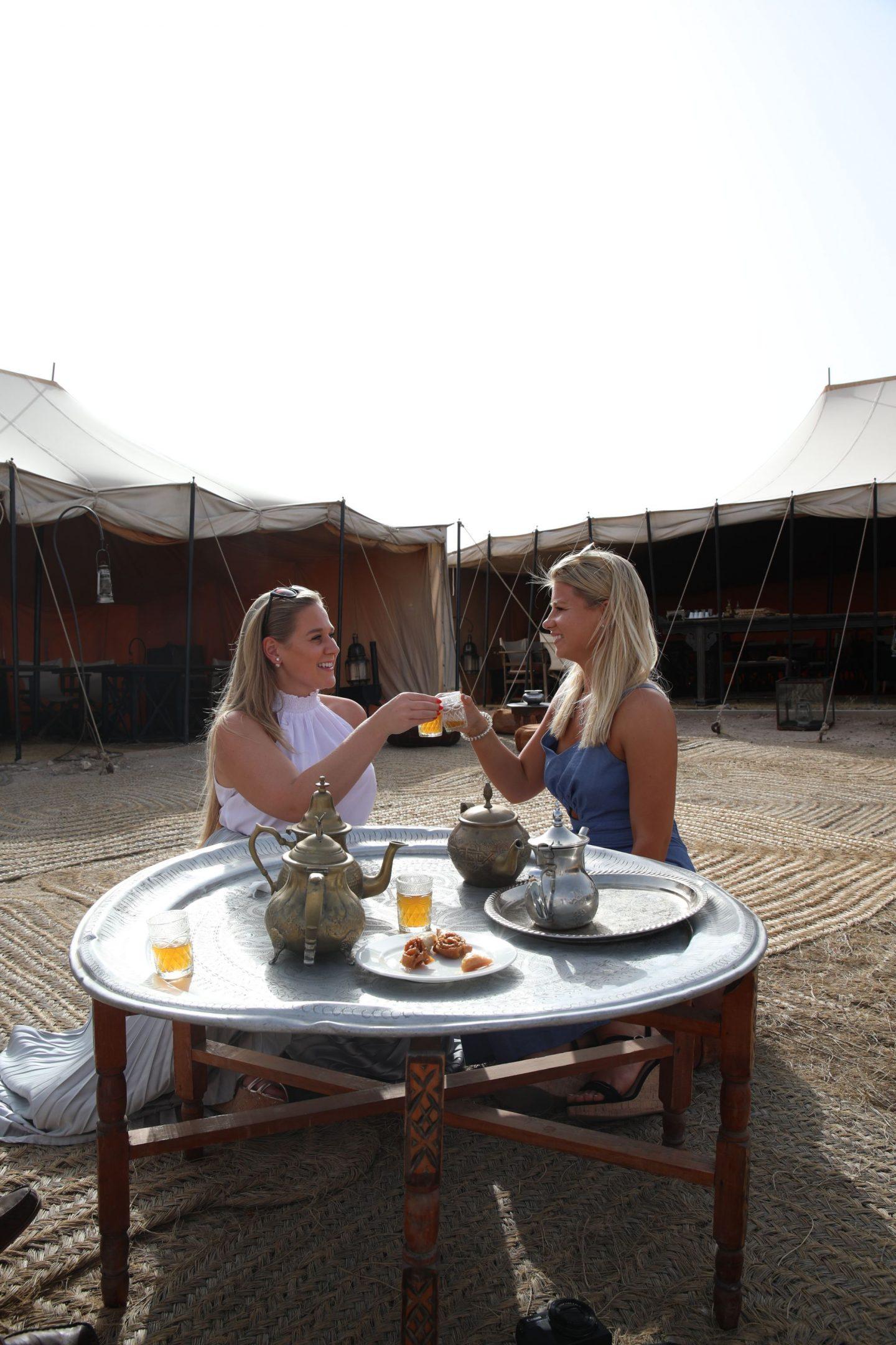 Katie KALANCHOE, Marrakech, Scarabeo Desert Camp, Katie Heath and Harriet Martinovic