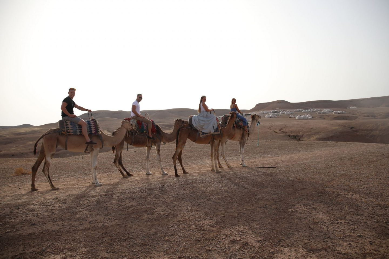 Katie KALANCHOE, Marrakech, Scarabeo Desert Camp, Harriet Martinovic, Katie Heath, Ben heath, Tom Yellowlees