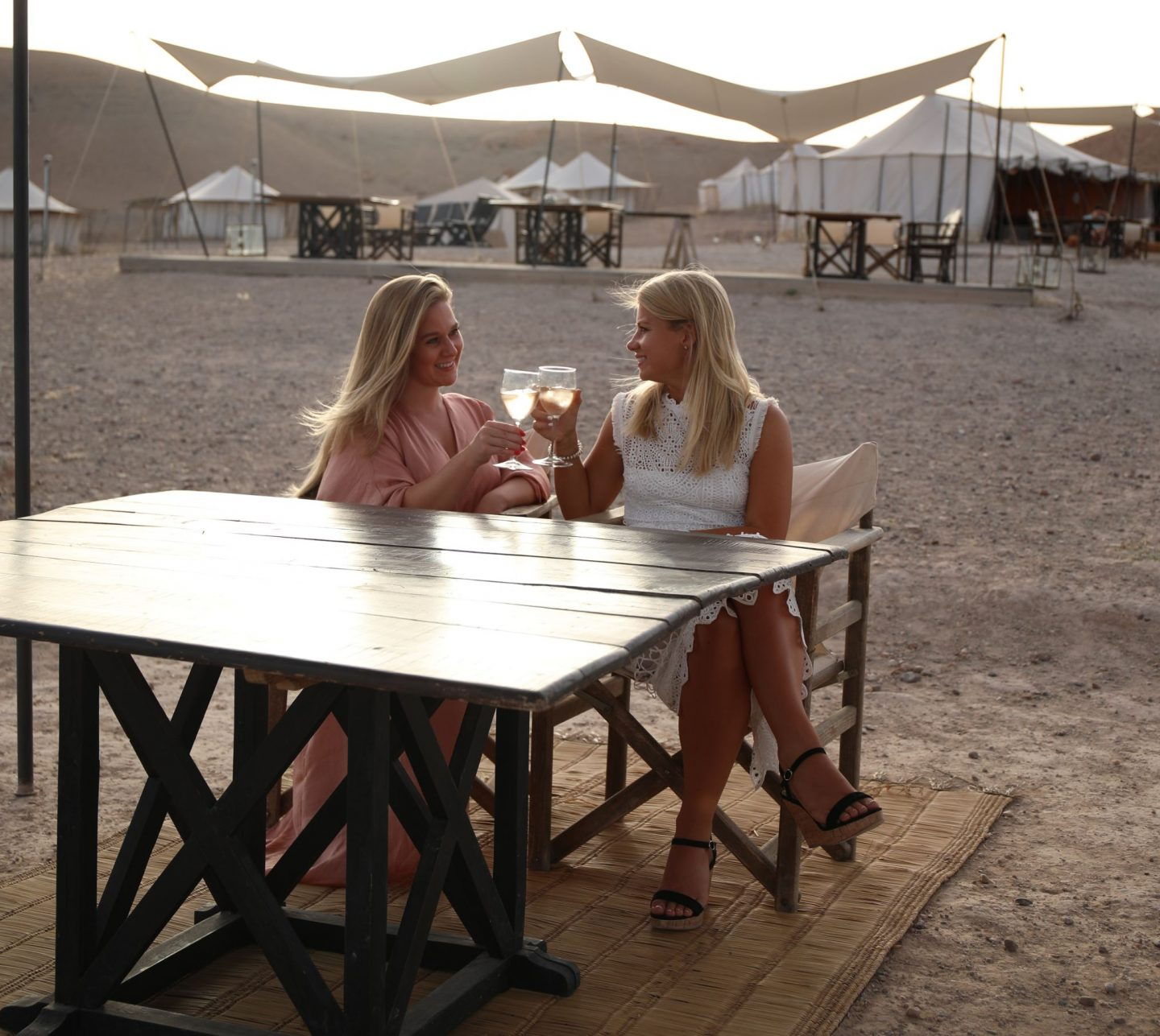 A Birthday Celebration at Scarabeo Desert Camp
