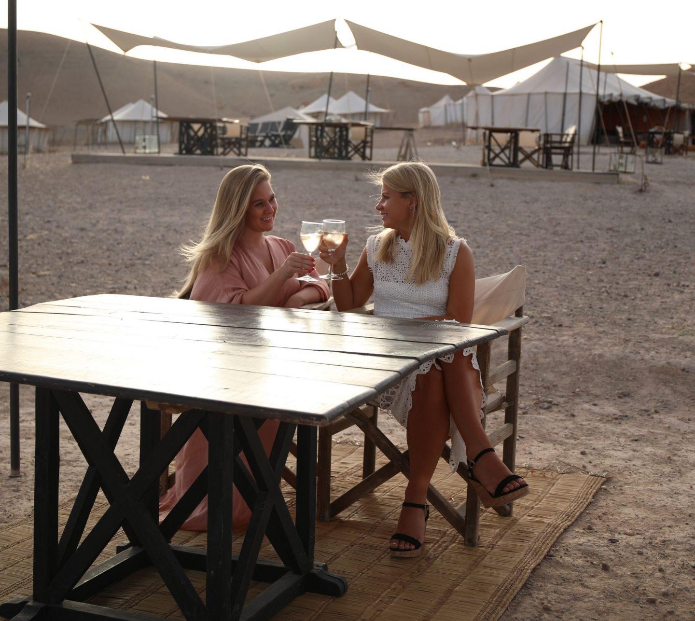 A Birthday Celebration at Scarabeo Desert Camp