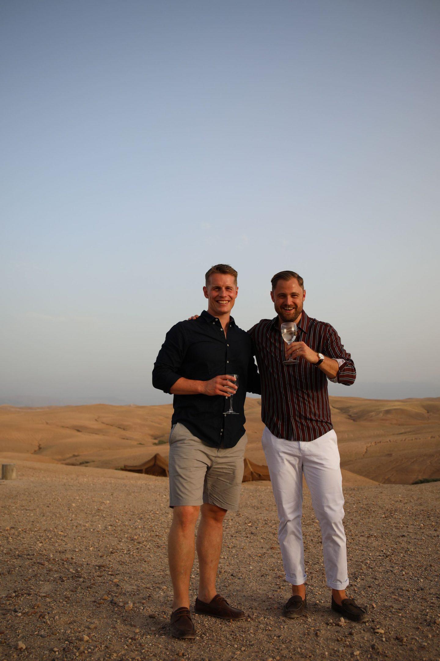 Katie KALANCHOE, Marrakech, Scarabeo Desert Camp, Ben Heath, Tom yellowlees