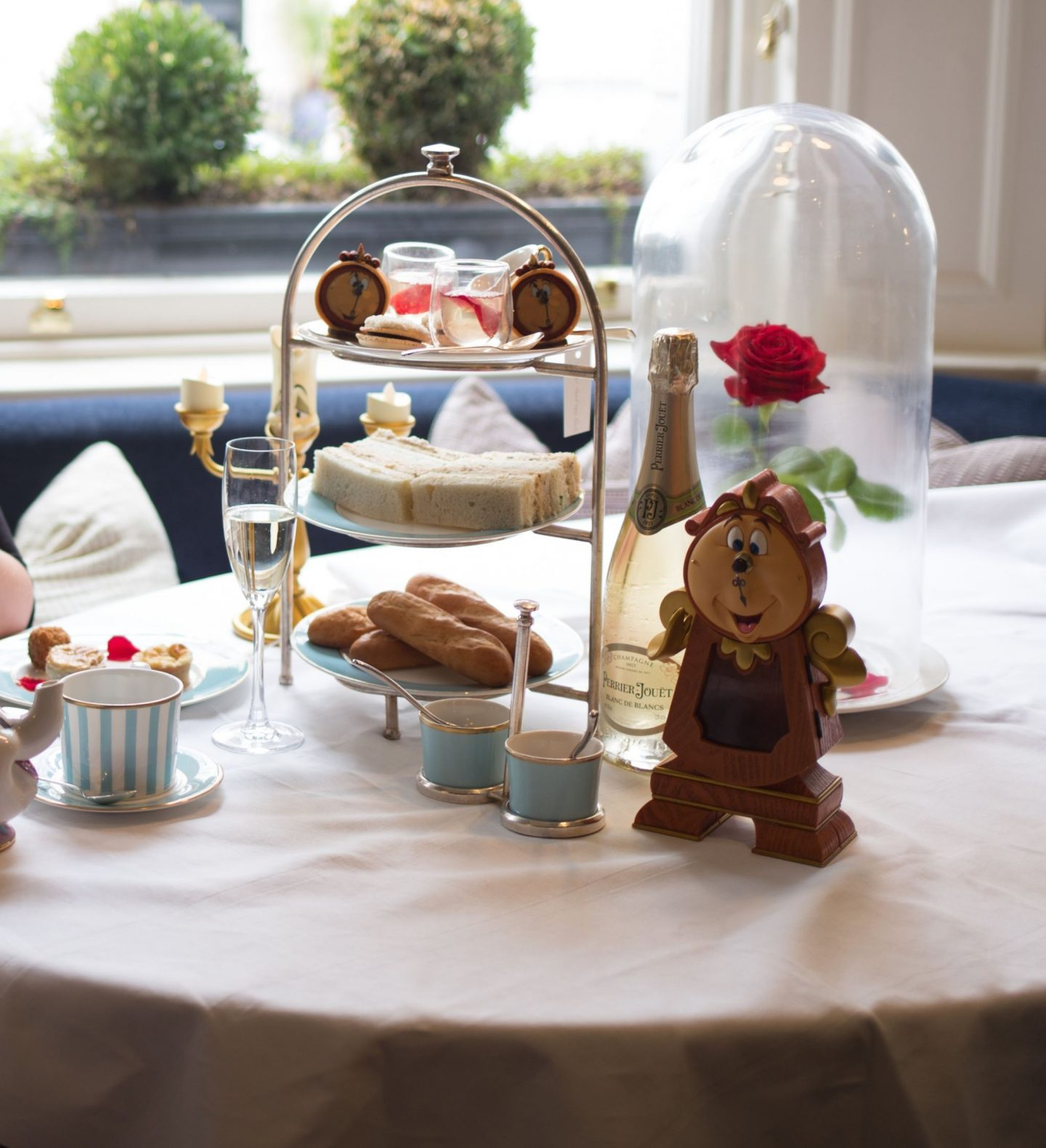 Be Our Guest Afternoon Tea at The Townhouse, Kensington Hotel, Katie KALANCHOE