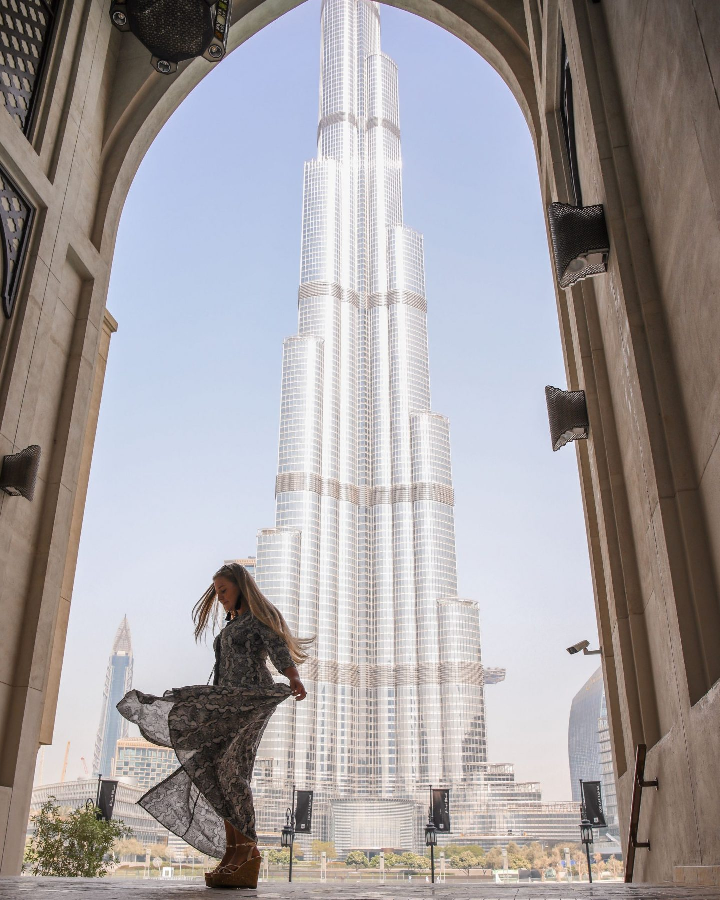 View from the Burj Khalifa, Dubai, Katie KALANCHOE