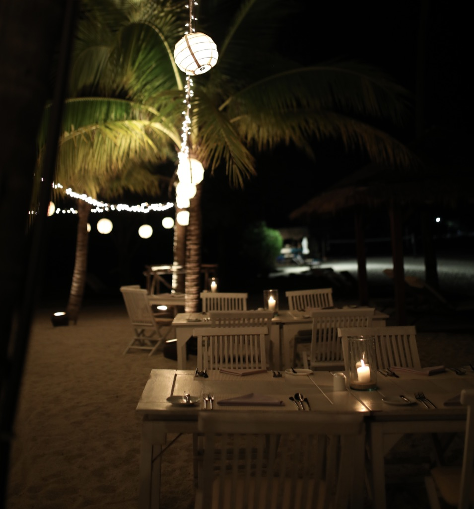 The Beach Restaurant at The Belmond Napasai in Koh Samui Thailand, Katie KALANCHOE