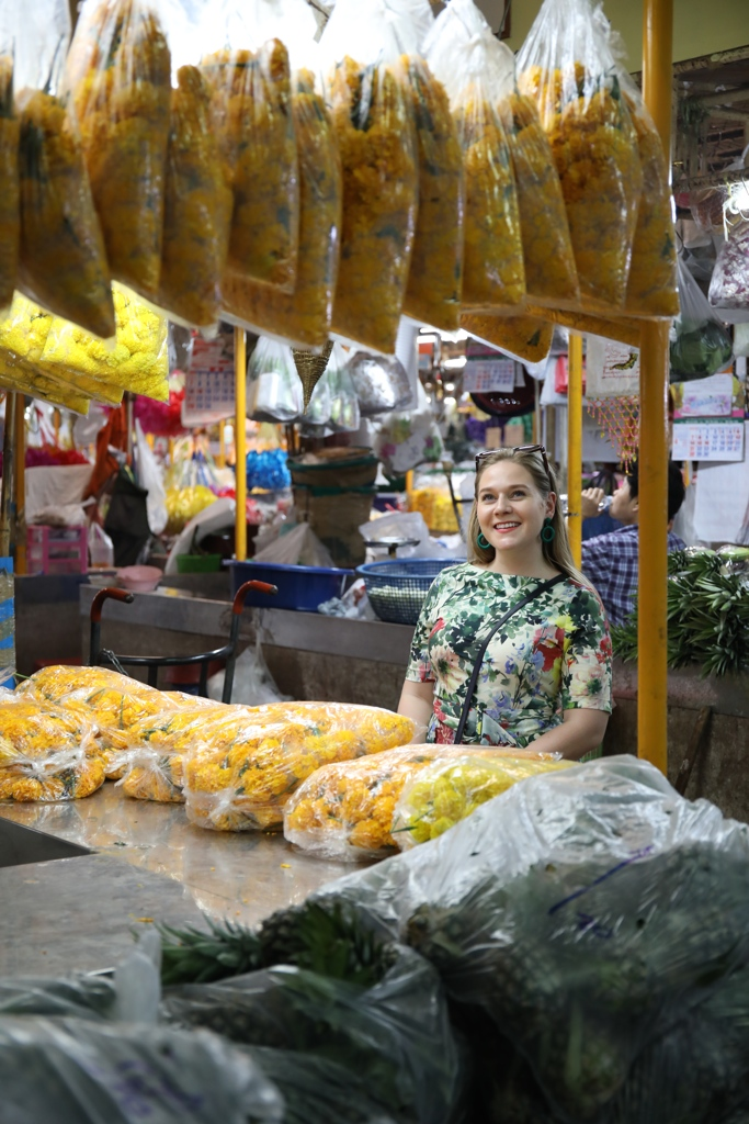 The Flower Market, Bangkok, Thailand, Katie KALANCHOE