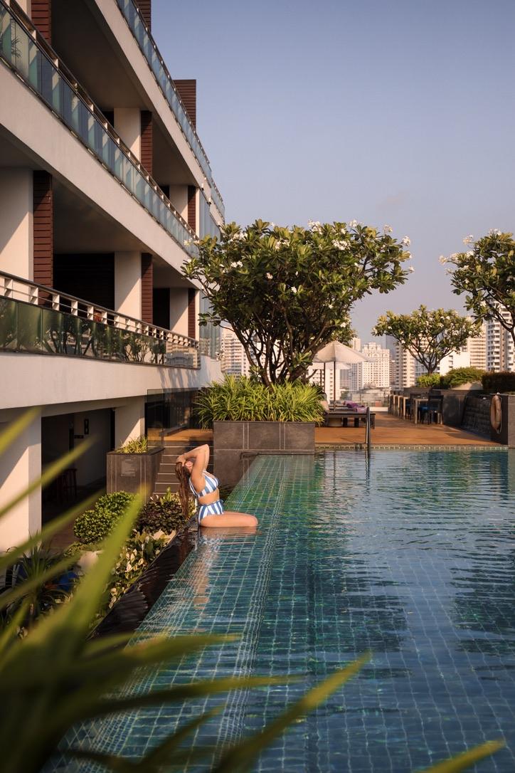Akyra Thonglor Hotel, Bangkok, Thailand, Katie KALANCHOE