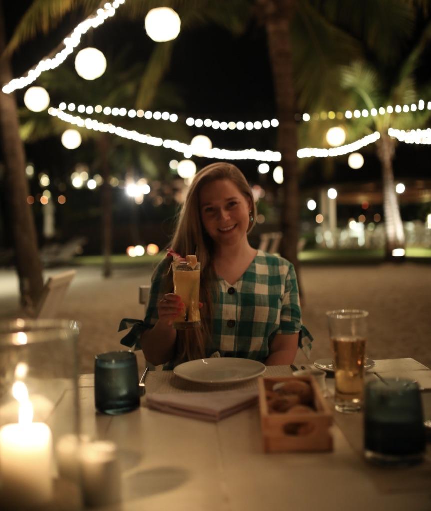 The Beach Restaurant at The Belmond Napasai in Koh Samui Thailand, Katie KALANCHOE