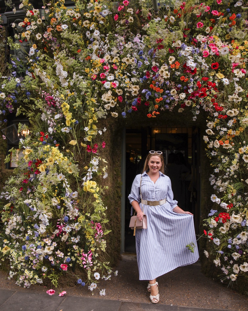 Lunch at The Ivy Chelsea Garden Wild Flower Meadow