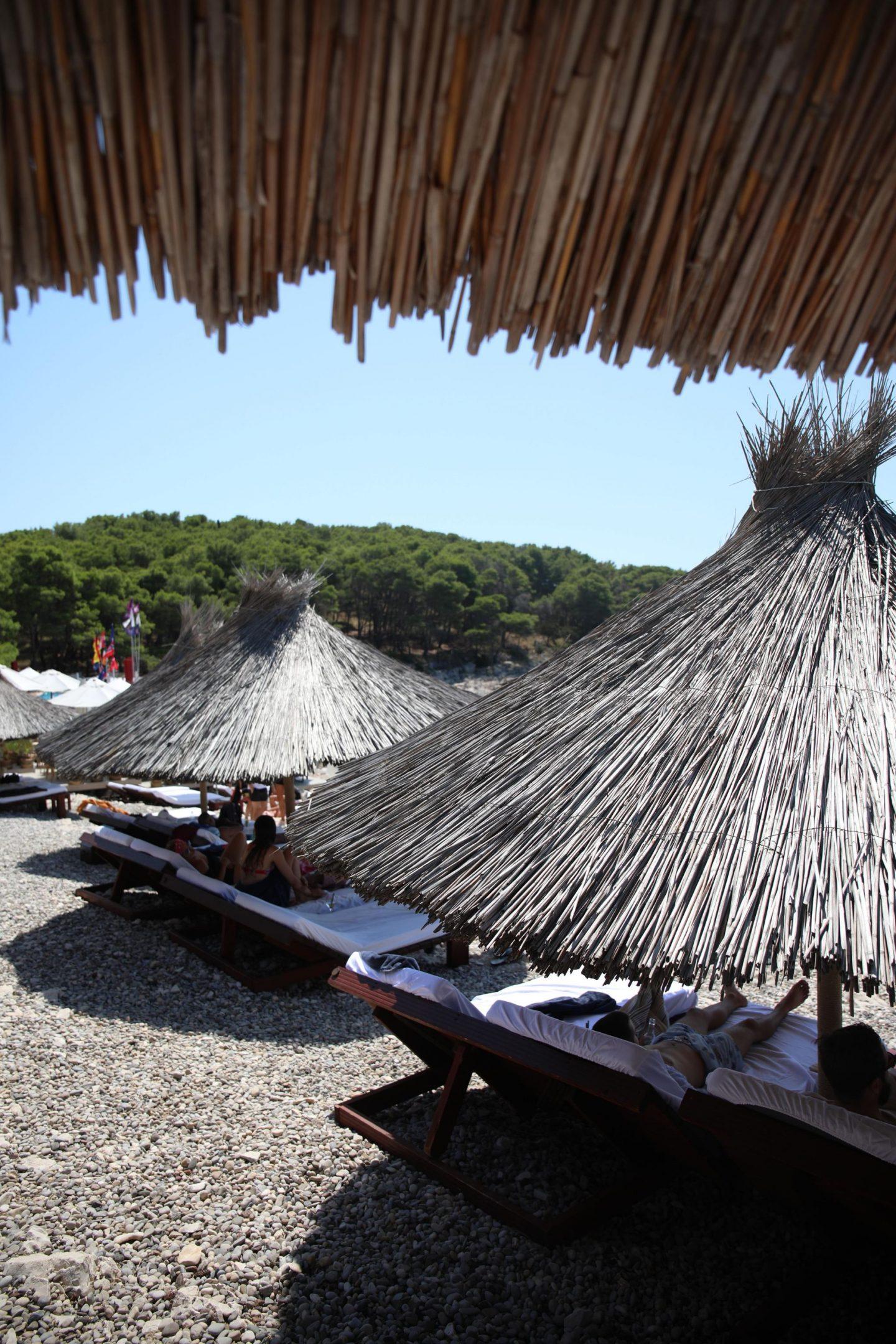 Carpe Diem Beach Club, Hvar, Croatia, Katie KALANCHOE