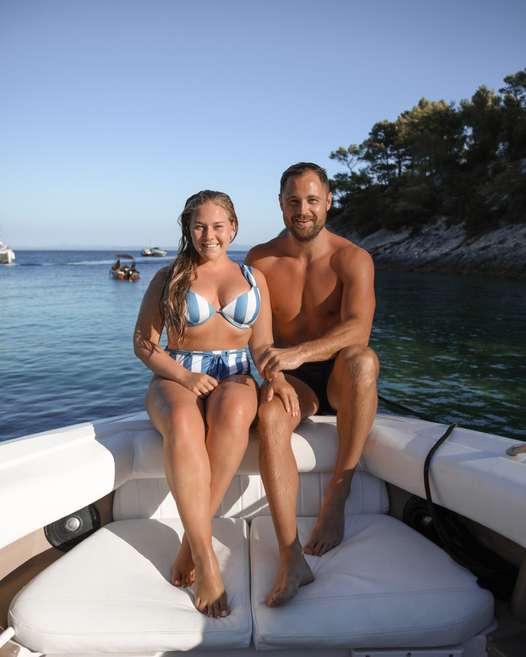 Katie and Ben, Hvar, Croatia, Katie Heath, Kalanchoe