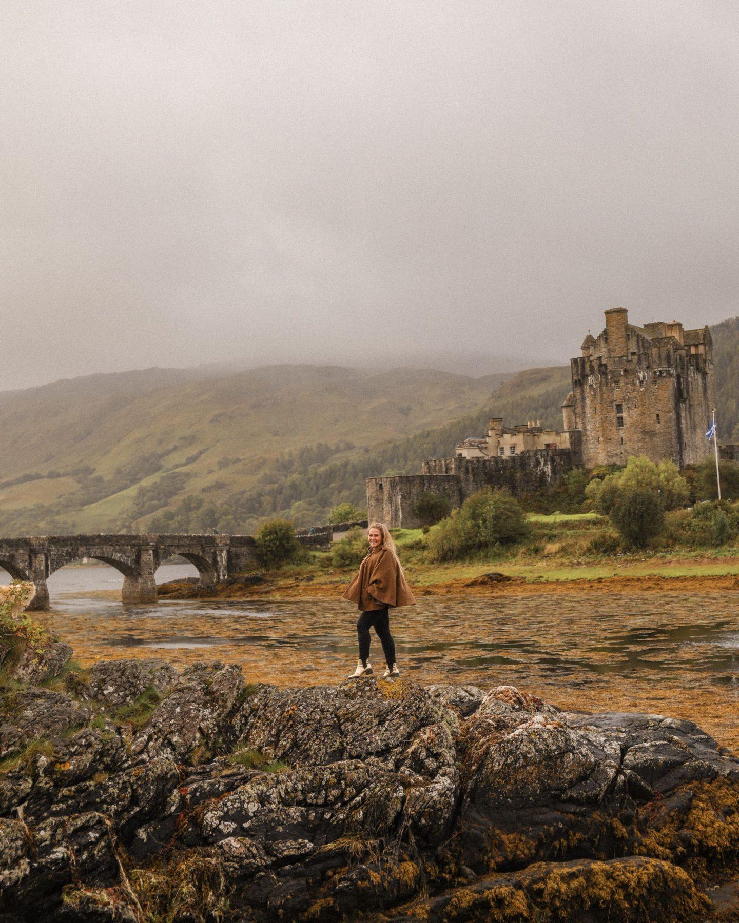 Eilean Donan Castle, Scotland Roadtrip, Katie Heath, KALANCHOE