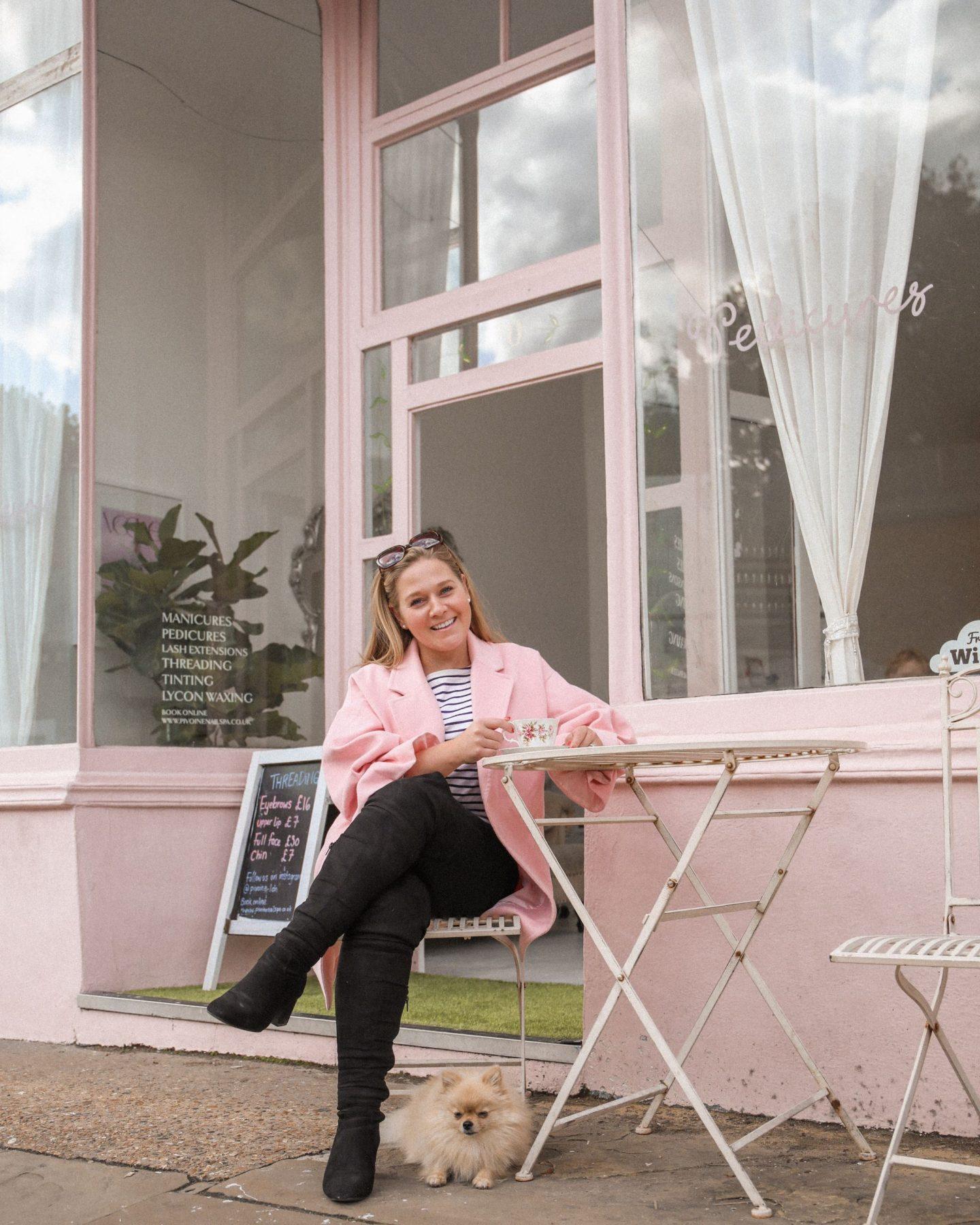Pivoine Nail and Beauty Salon, Belsize Village, Belsize Park London, Katie heath, KALANCHOE