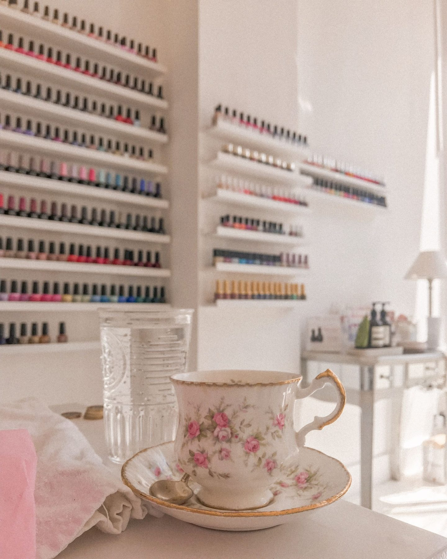 Pivoine Nail and Beauty Salon, Belsize Village, Belsize Park London, Katie heath, KALANCHOE