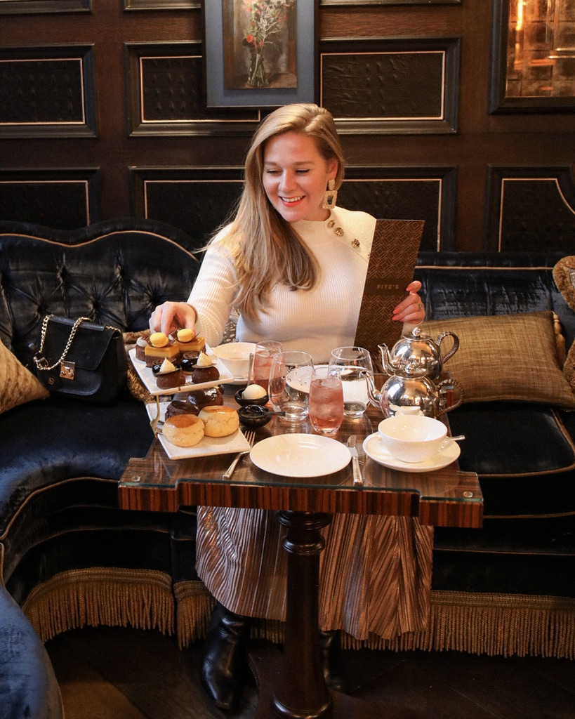 Do You Like Chocolate Afternoon Tea, The Kimpton Fitzroy, Katie Heath, Kalanchoe