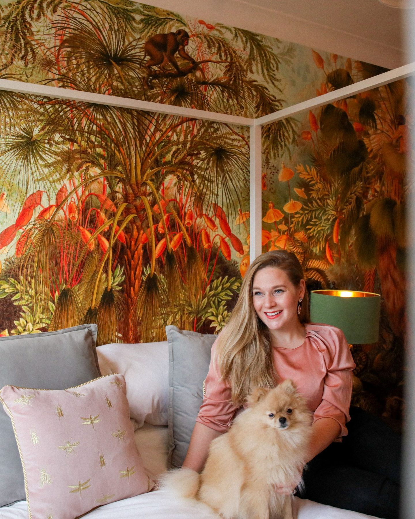 The Guest Room Reveal, The Jungle Room, Katie Heath, KALANCHOE