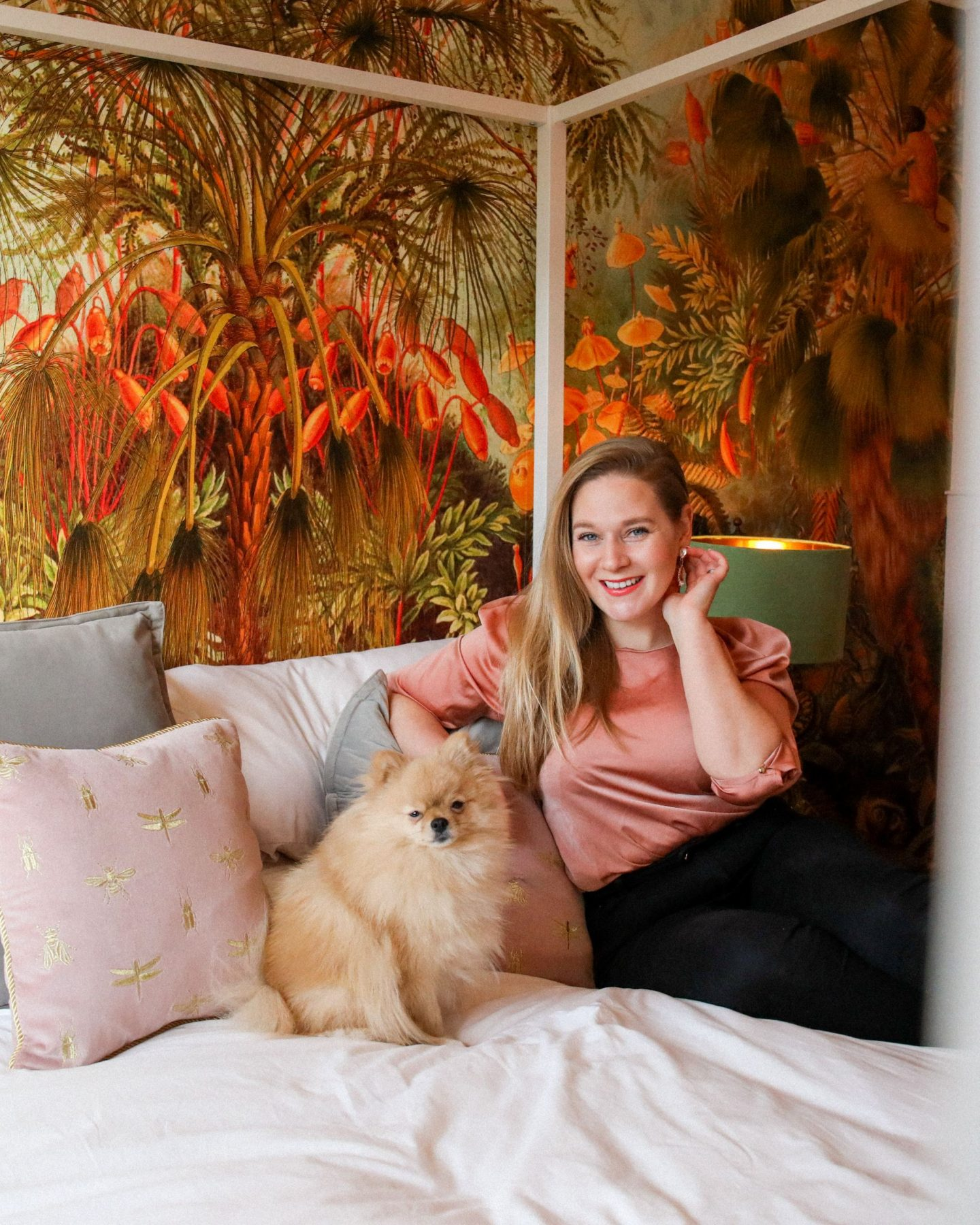 The Jungle Room Reveal | Guest Room Makeover