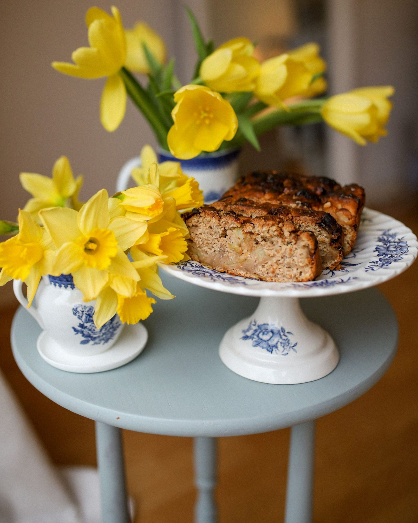 Vegan Devon Apple Cake, Katie Heath KALANCHOE