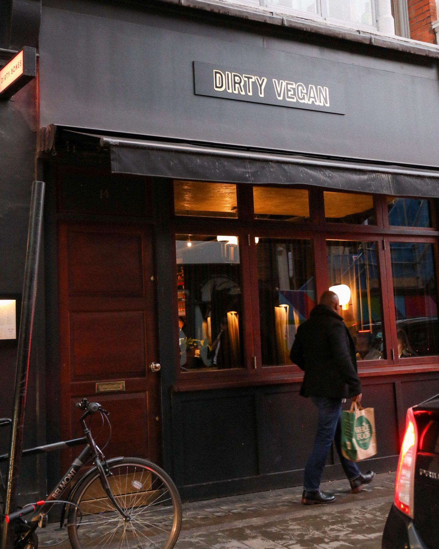 Dirty Bones new Vegan Restaurant in Soho, Katie Heath, Kalanchoe