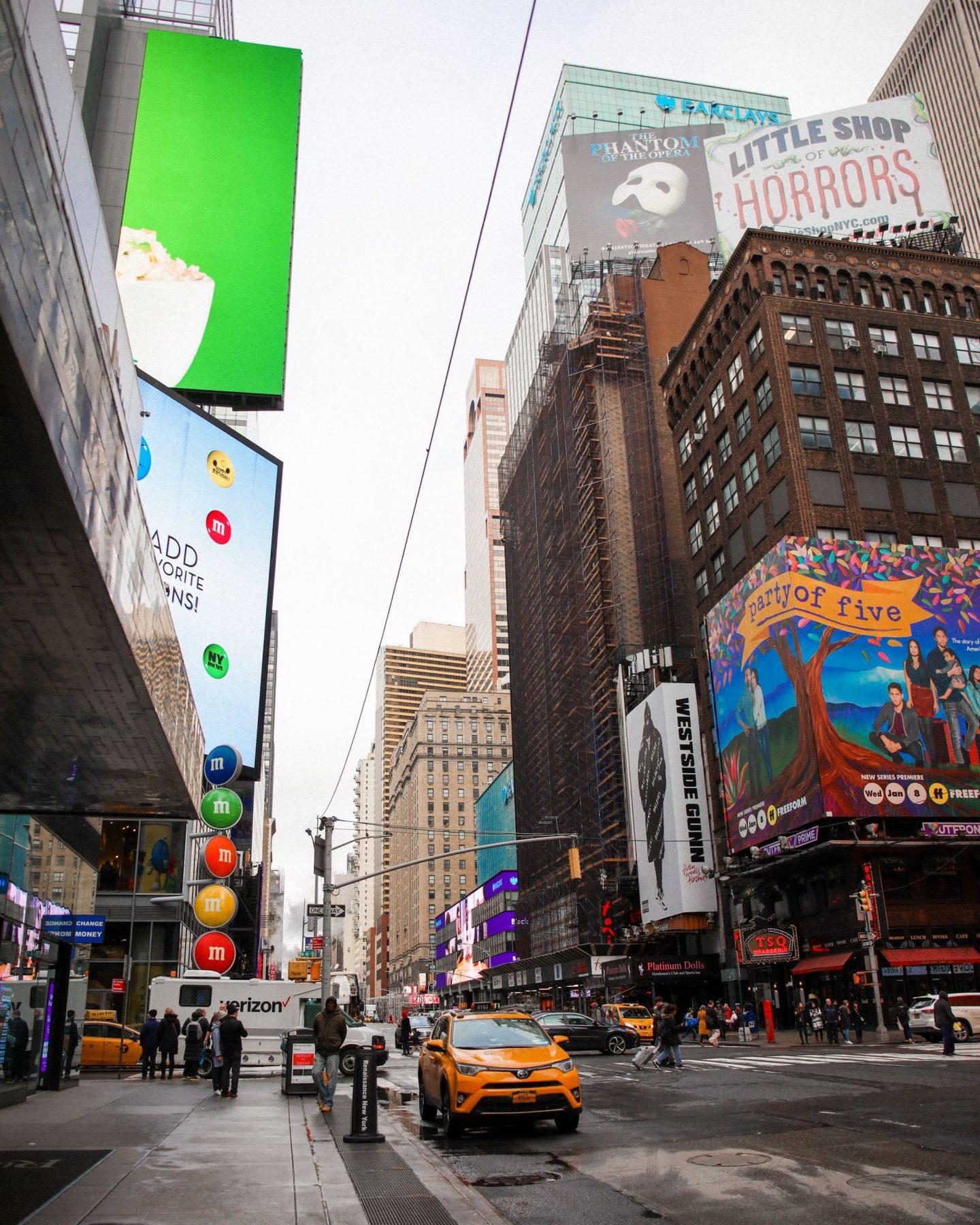 Times Square NYC, Katie Heath KALANCHOE