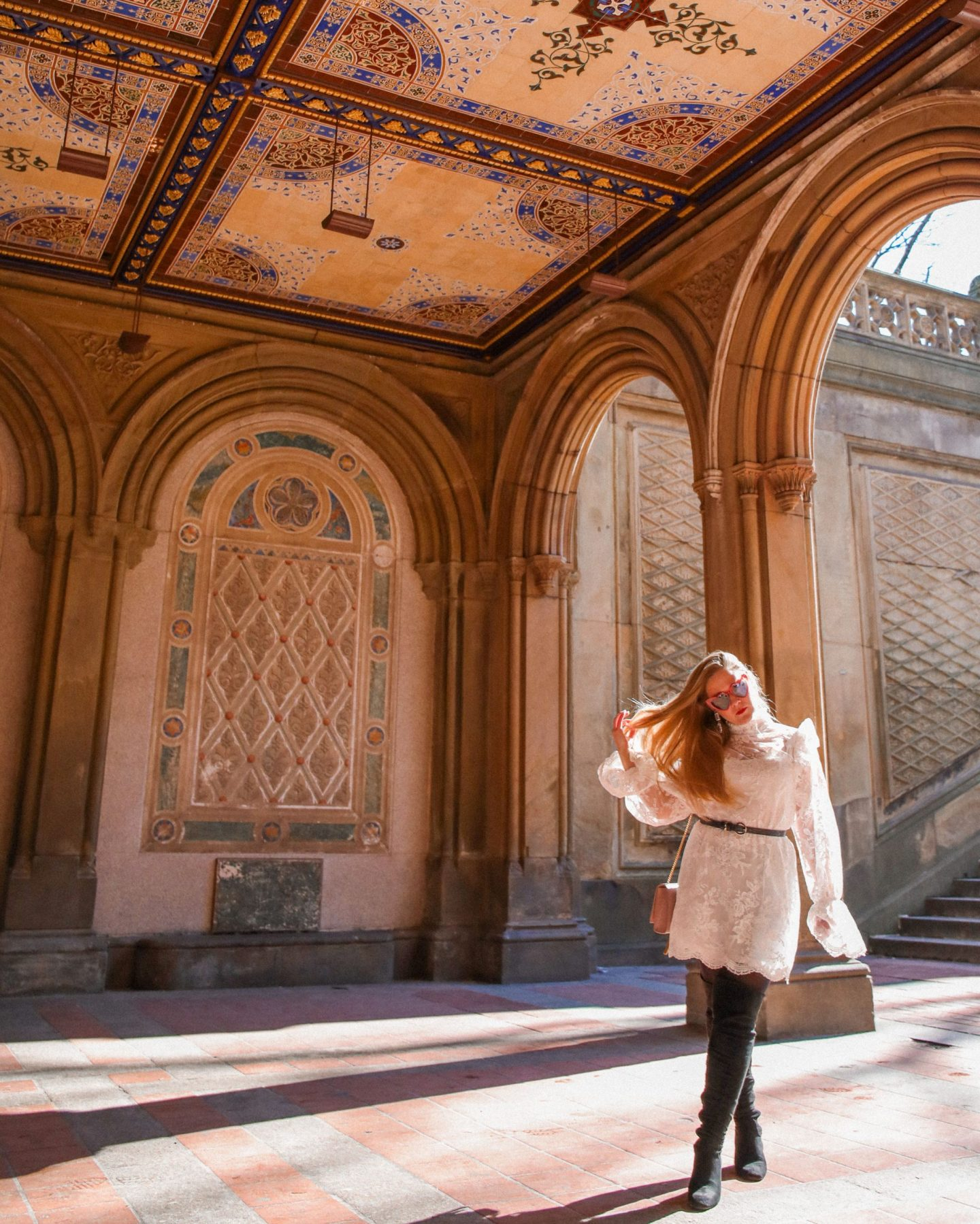 Bethesda Terrace, Central Park, New York, Katie Heath, KALANCHOE