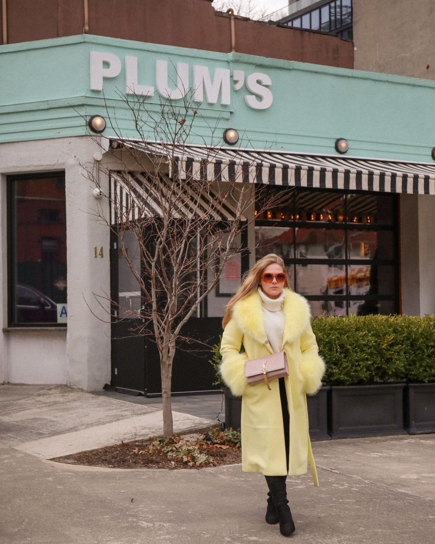 Plum's Bar and Restaurant, DUMBO, New York City, Ben and Katie Heath, KALANCHOE