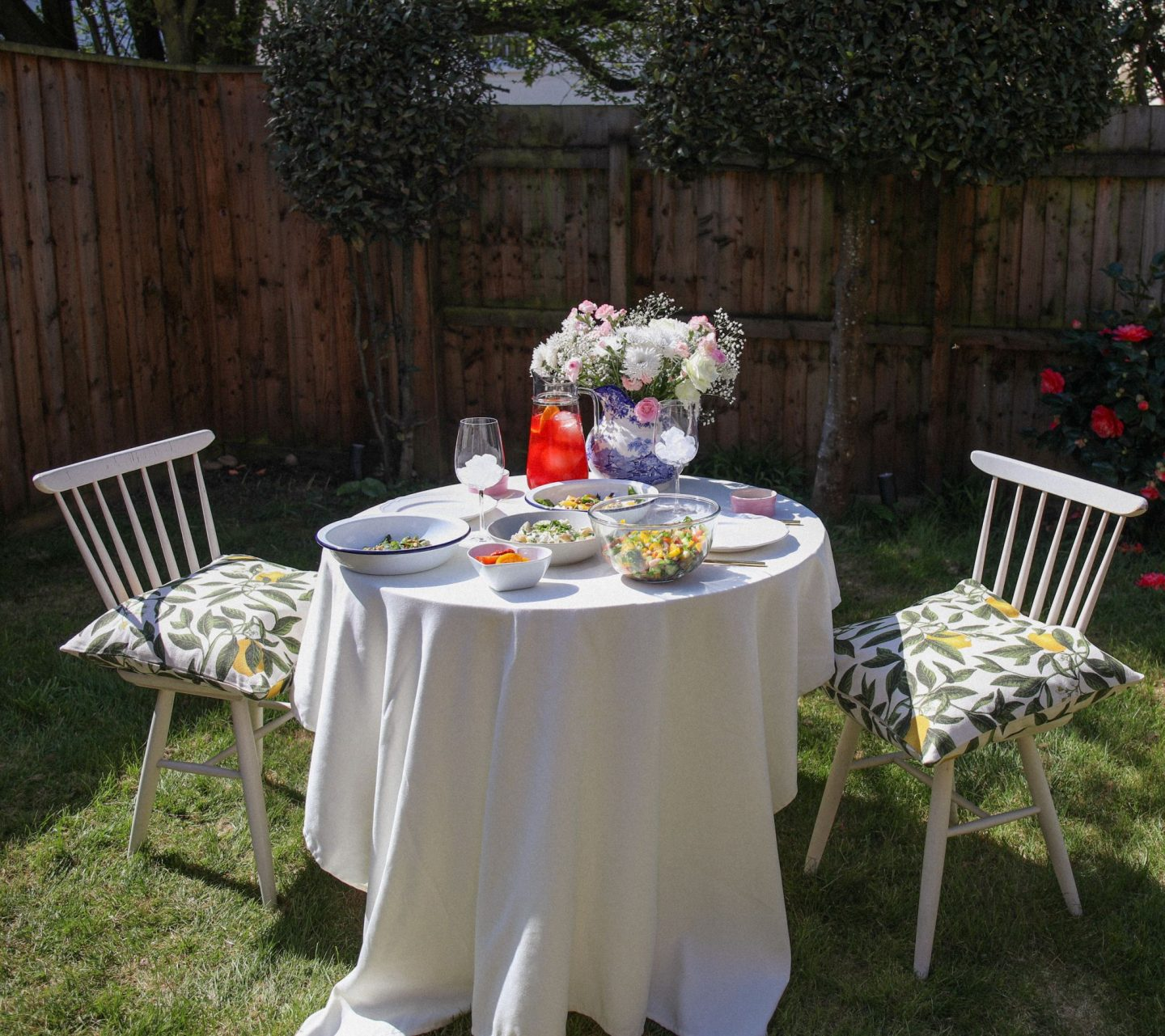 Spring lunch salad recipes in the garden, Katie Heath, KALANCHOE