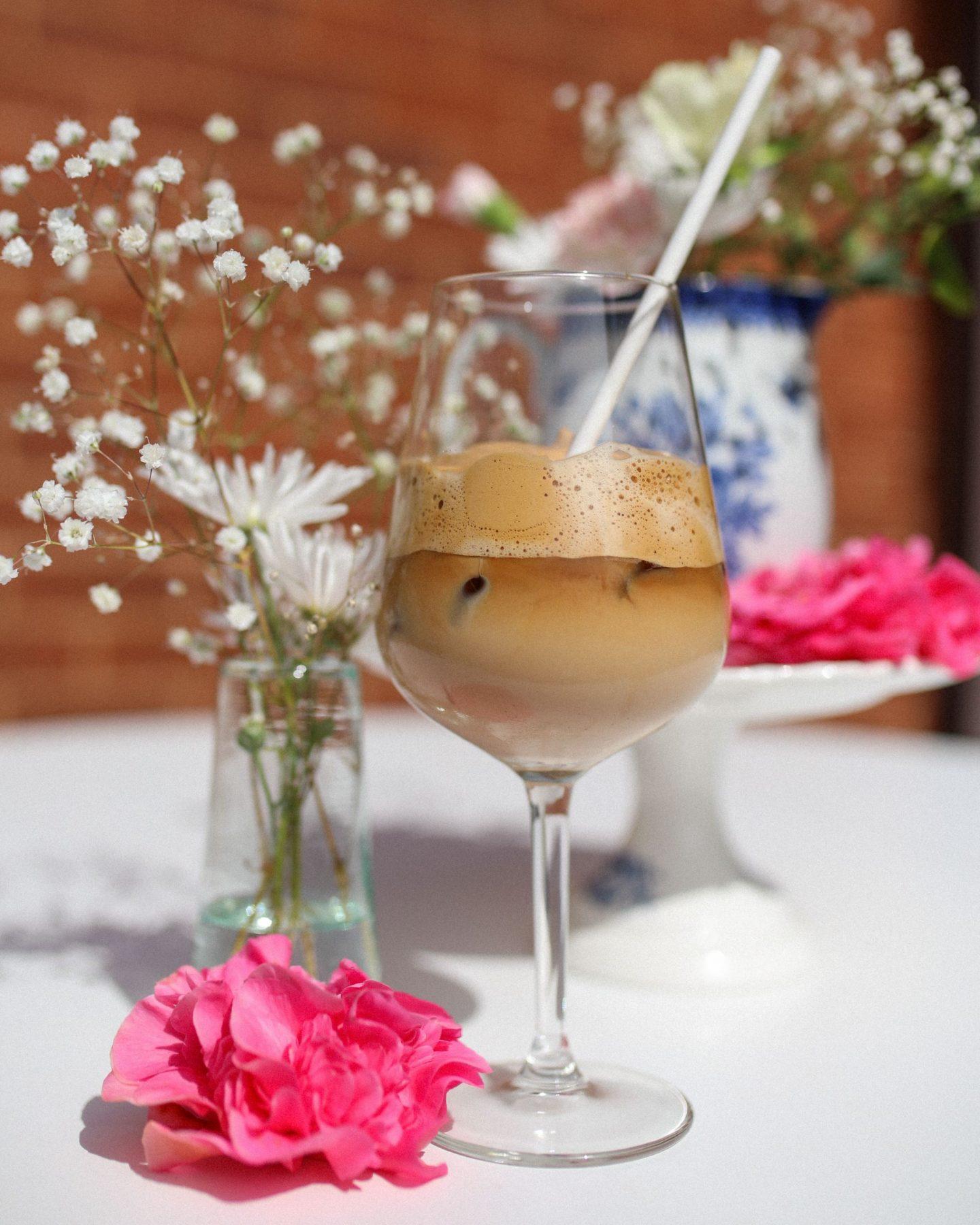 TikTok Famous Iced Dalgona Coffee, Katie Heath, KALANCHOE