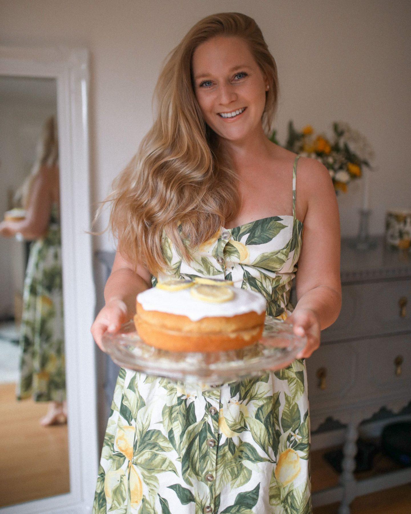 Iced Lemon and Poppy Seed Cake, Katie Heath, KALANCHOE